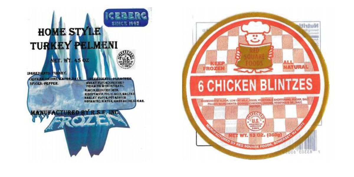 Red Square Foods recalls meat, poultry products